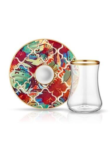 Koleksiyon Çay Seti 6'Lı Amazon Tropic Renkli